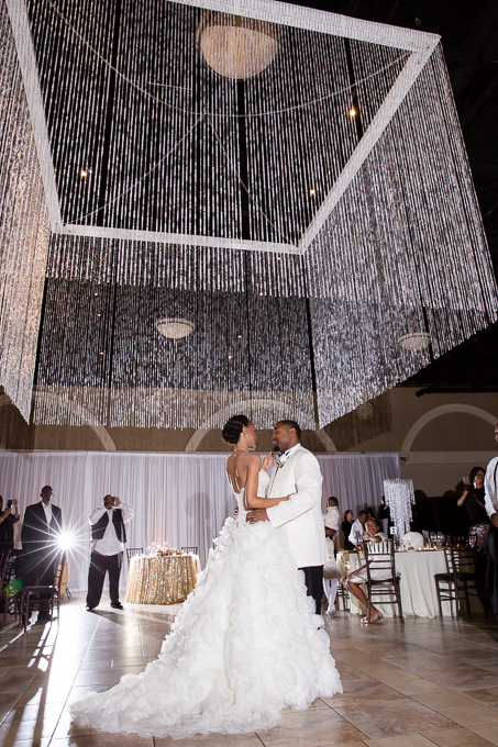 Casa Real At Ruby Hill Winery Wedding S First Dance Under The Glamrous Grand Chandelier