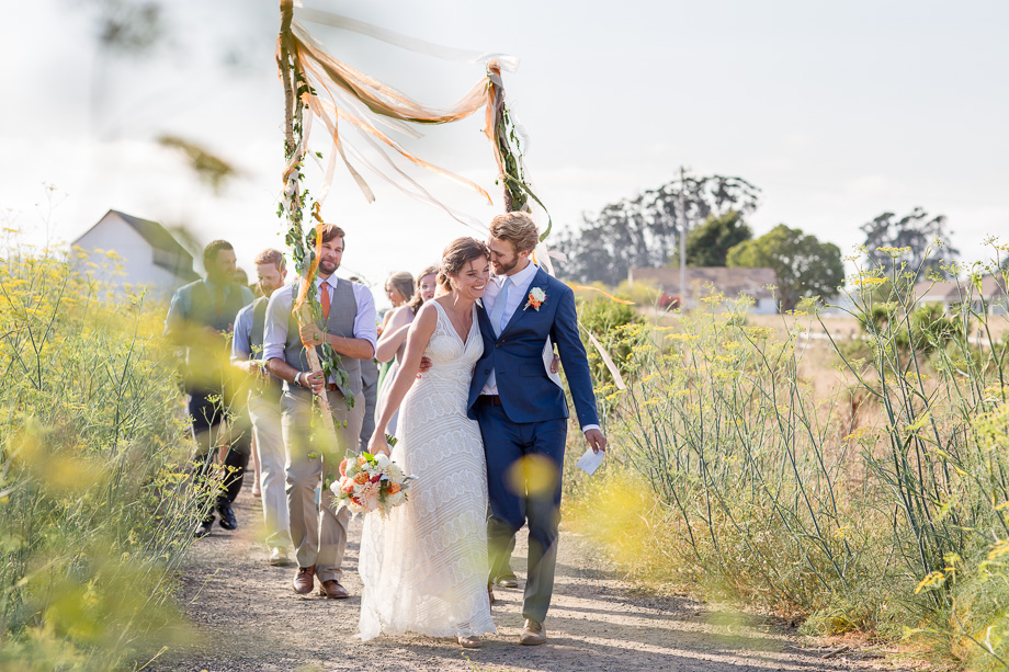 ultra romantic wedding parade captured candidly by A Tale Ahead Photography